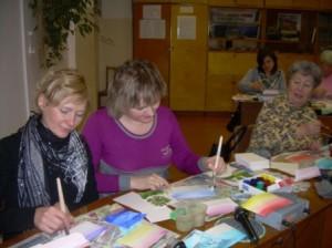Встреча с художниками школы
