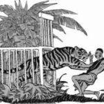 Притча: Тигр и путник.